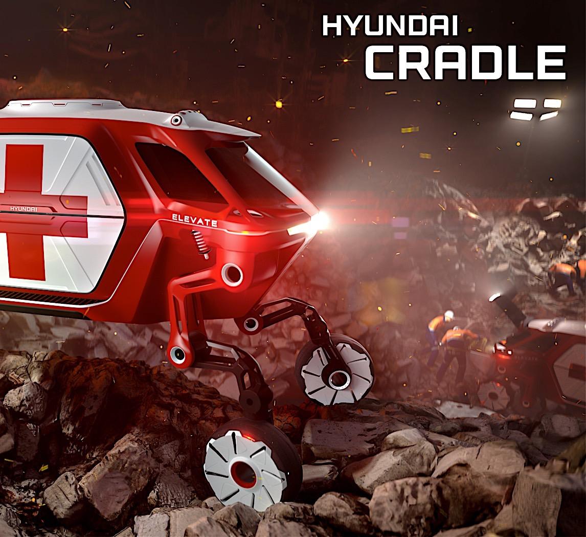 Hyundai To Show Walking Car At CES 2019
