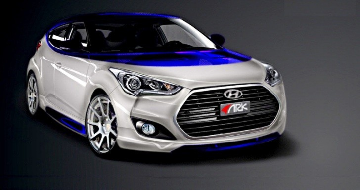 Hyundai Veloster Alpine Concept by ARK to Debut at 2012 SEMA