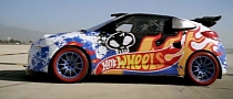 Hyundai Veloster Becomes Hot Wheels Stunt Car [Video]