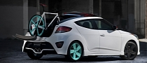 Hyundai Veloster Looses Roof: C3 Roll Top Concept [Photo Gallery]