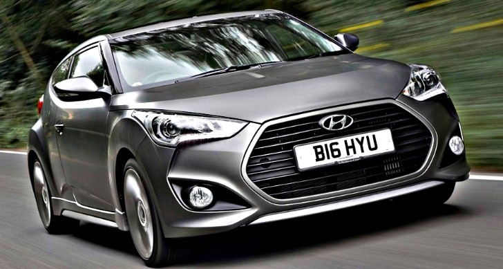 Hyundai Veloster Turbo Available in the UK from £21,995