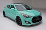 Hyundai Veloster Turbo JP Edition Concept at 2012 SEMA [Photo Gallery]