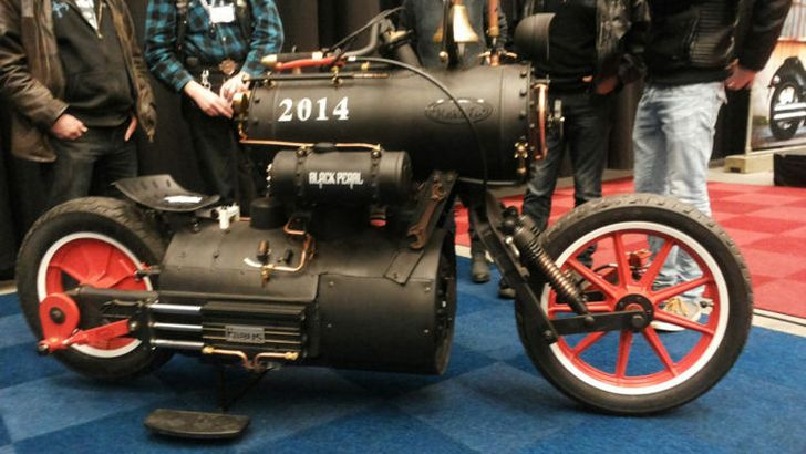 2015 Yamaha Motorcycles >> It Doesn't Get More Steampunk Than a Steam-Powered ...
