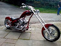 Spinners on motorcyle rims