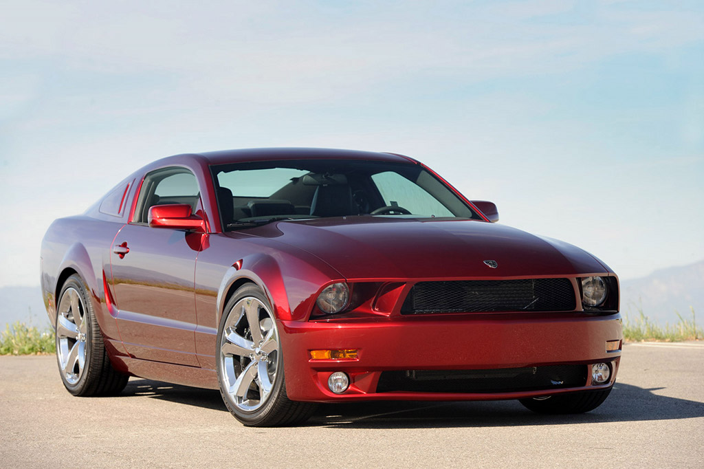 Iacocca 45th Anniversary Edition Mustang Also Comes in Red ...