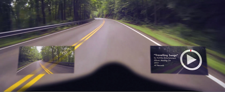 iC-R Motorcycle Helmet Is the Intelligent Cranium Protection Concept