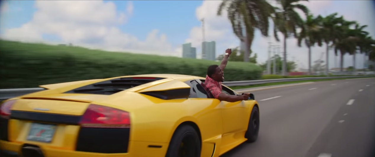 Ice Cubes Car In Ride Along