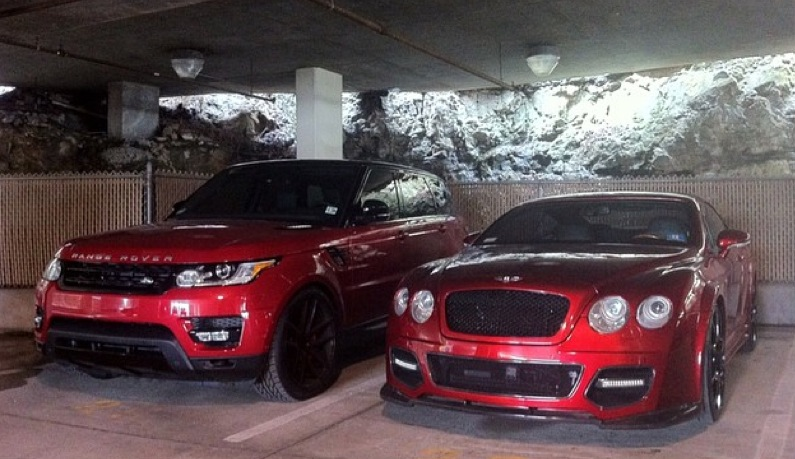 Ice T S Wife Coco Gets A Candy Apple Range Rover Sport