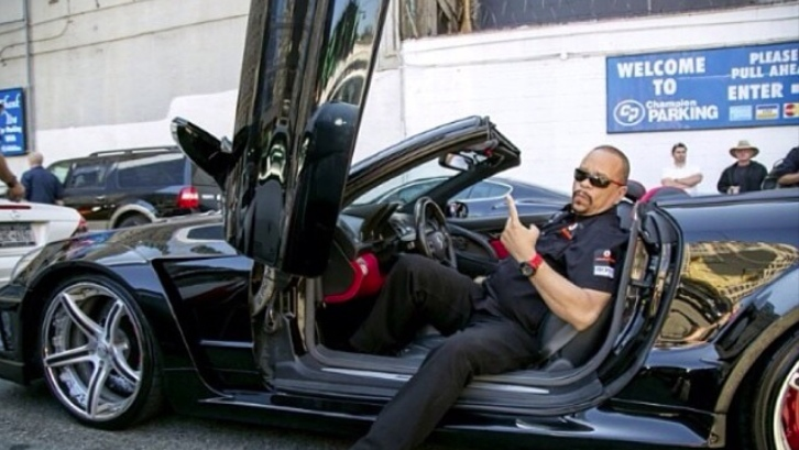 Ice T Shows His Mercedes Sl 65 Amg At Cf Charities