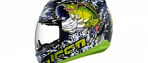 Icon Airmada Bass-Tard Helmet Looks Sexy [Photo Gallery][Video]