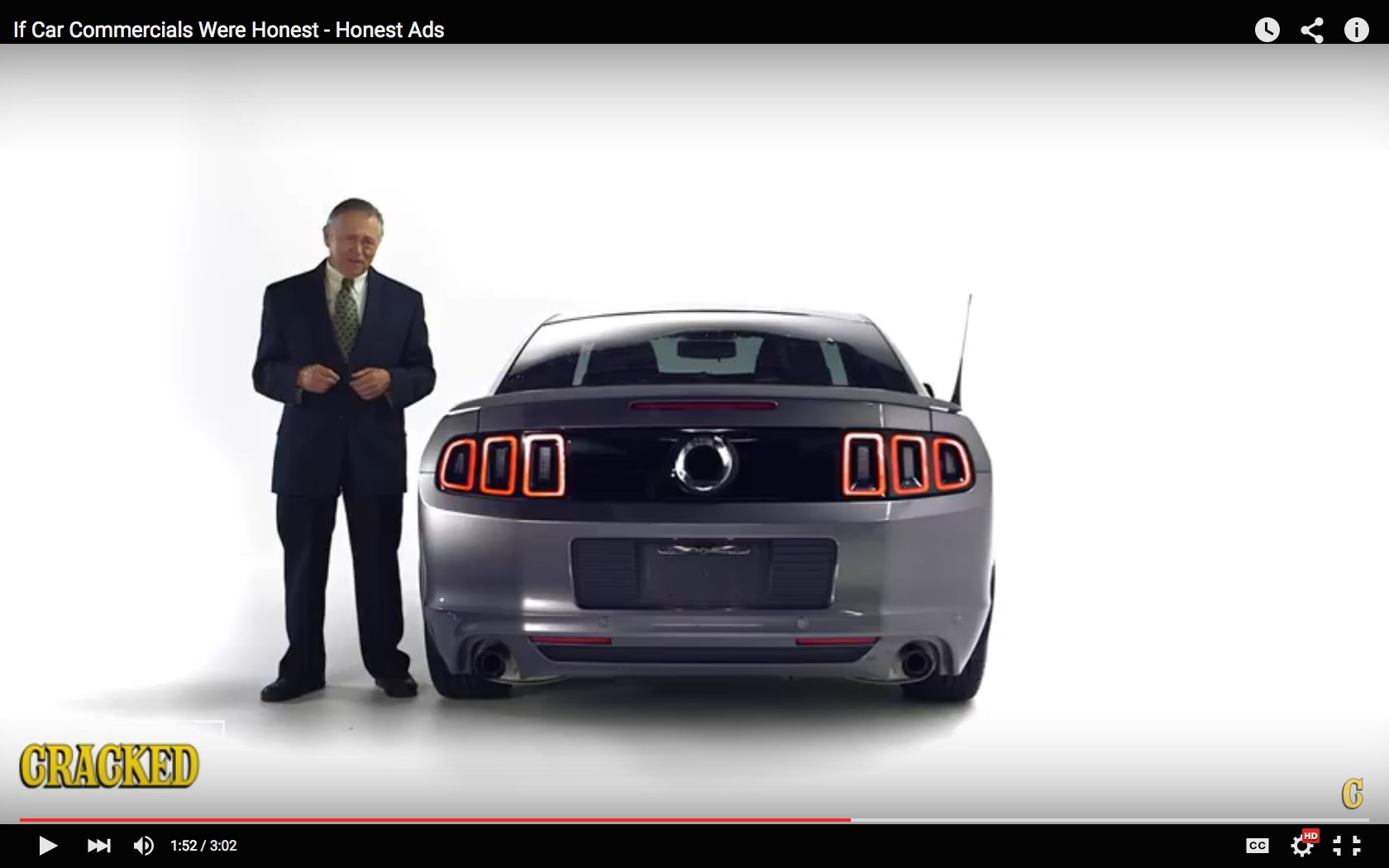 If Car Commercial Were Honest Clip Is What We Call Funny and Sad