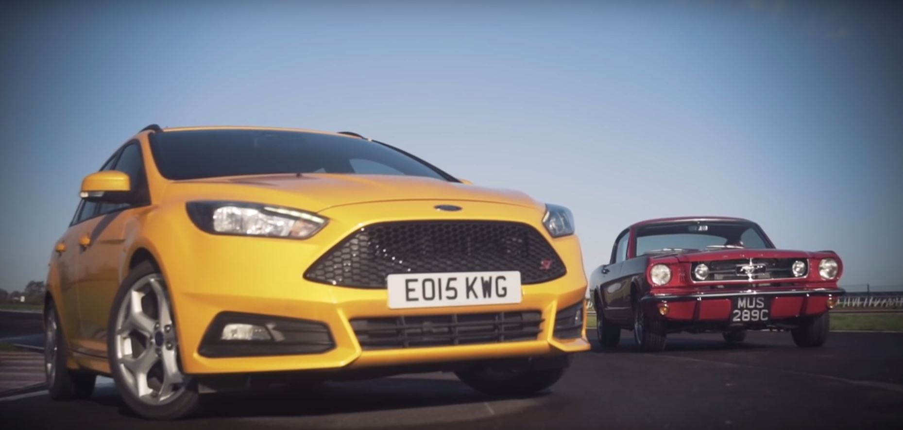 If Hot Hatches Are Europe S Muscle Cars The Focus St Is A Mustang
