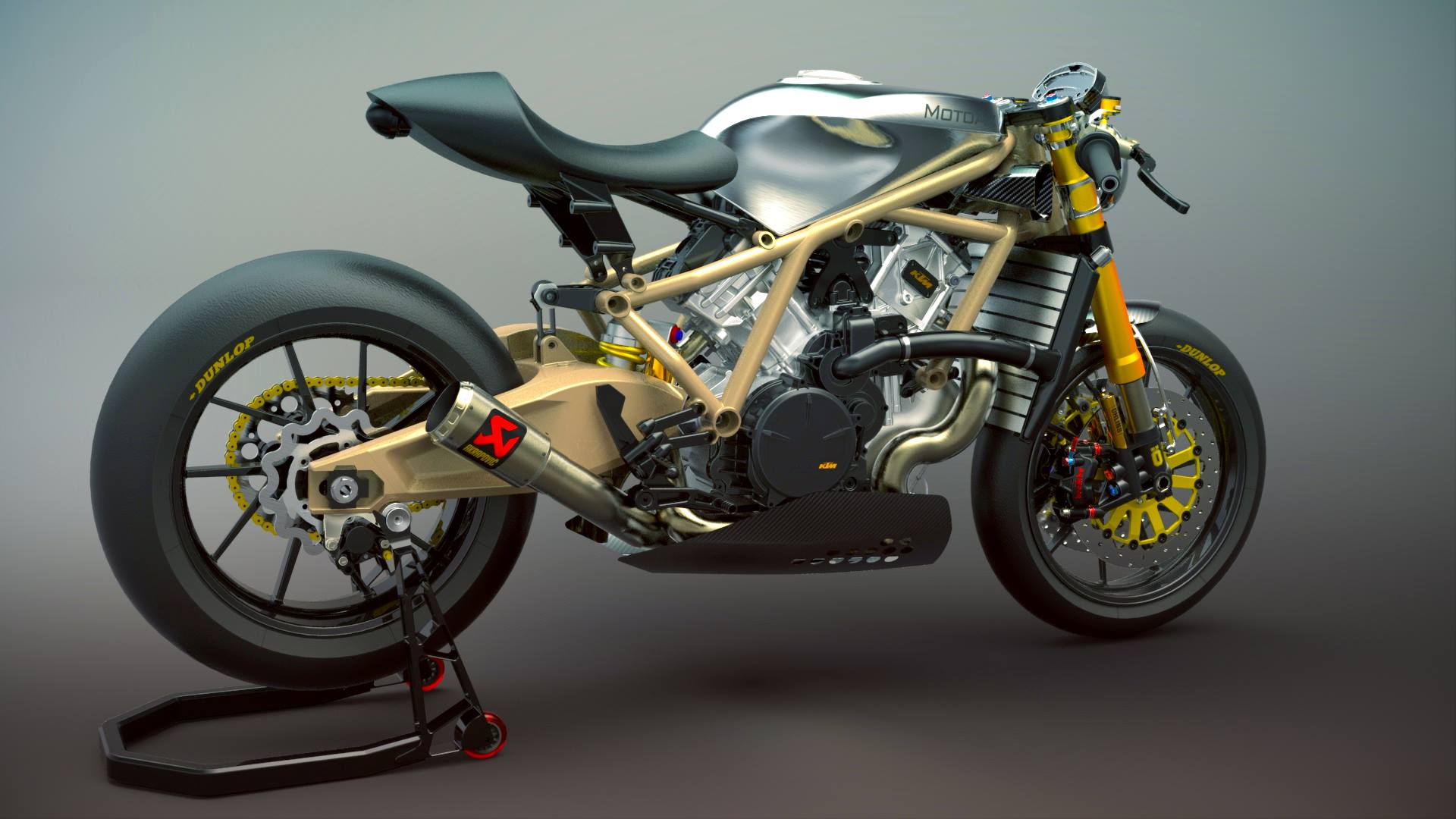 Own One Of The Only Race-Spec KTM 1190 RC8 R Produced For