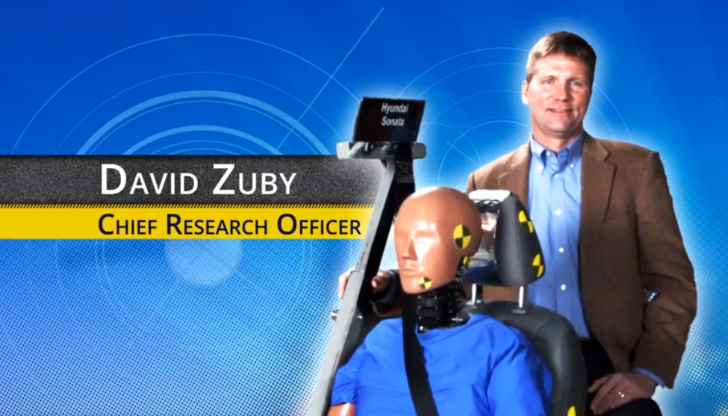 IIHS Testing for Whiplash Injury Explained [Video]