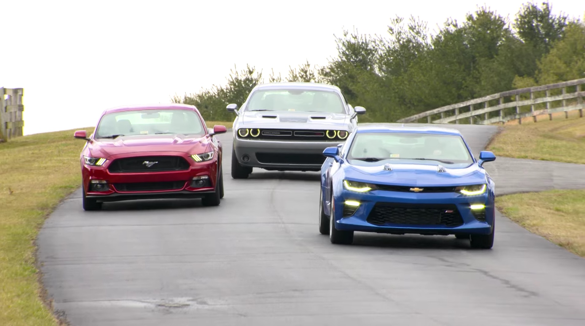 IIHS Tests American Muscle Car Trio, Is Not Impressed - autoevolution