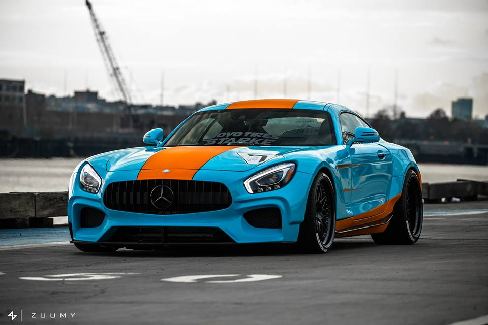 Illegitimate Quot Gulf Livery Quot Mercedes Amg Gt S Widebody
