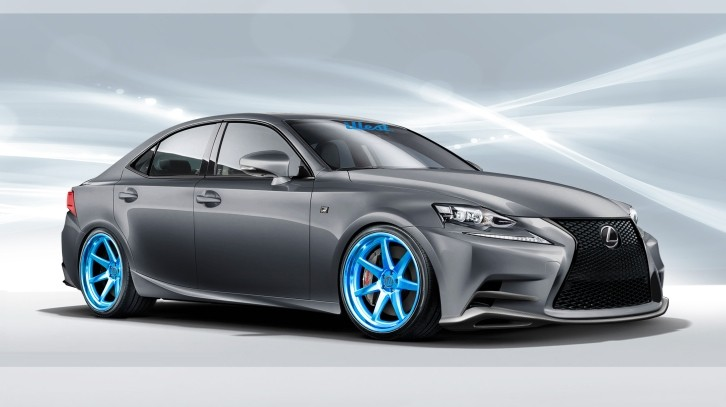 Illest Opens Tuning Business With Custom 2014 Lexus Is F Sport