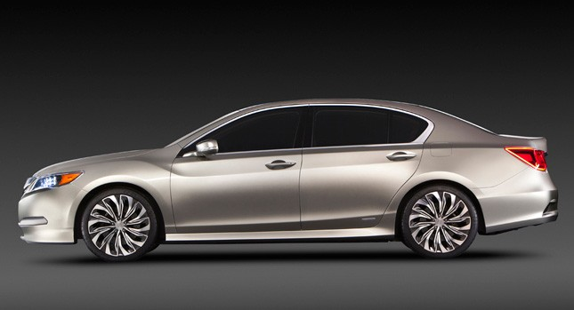 Image of New Acura RLX Concept Sedan Leaked