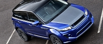 Imperial Blue Range Rover Evoque by Kahn Design [Photo Gallery]