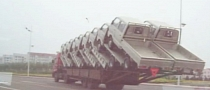 In China, One Truck Carries 18 Others [Video]