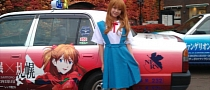 In Japan, Taxi Cabs Are Covered in Anime [Photo Gallery]