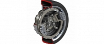 In-Wheel Electric Motor for 2014 from Protean