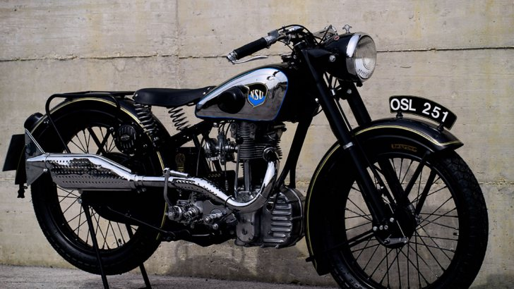 Incredible Restoration for 1937 NSU OSL 251 Bike [Photo Gallery]