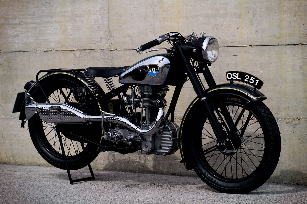1937 NSU OSL 251 incredible restoration by FMW Motorcycles ...
