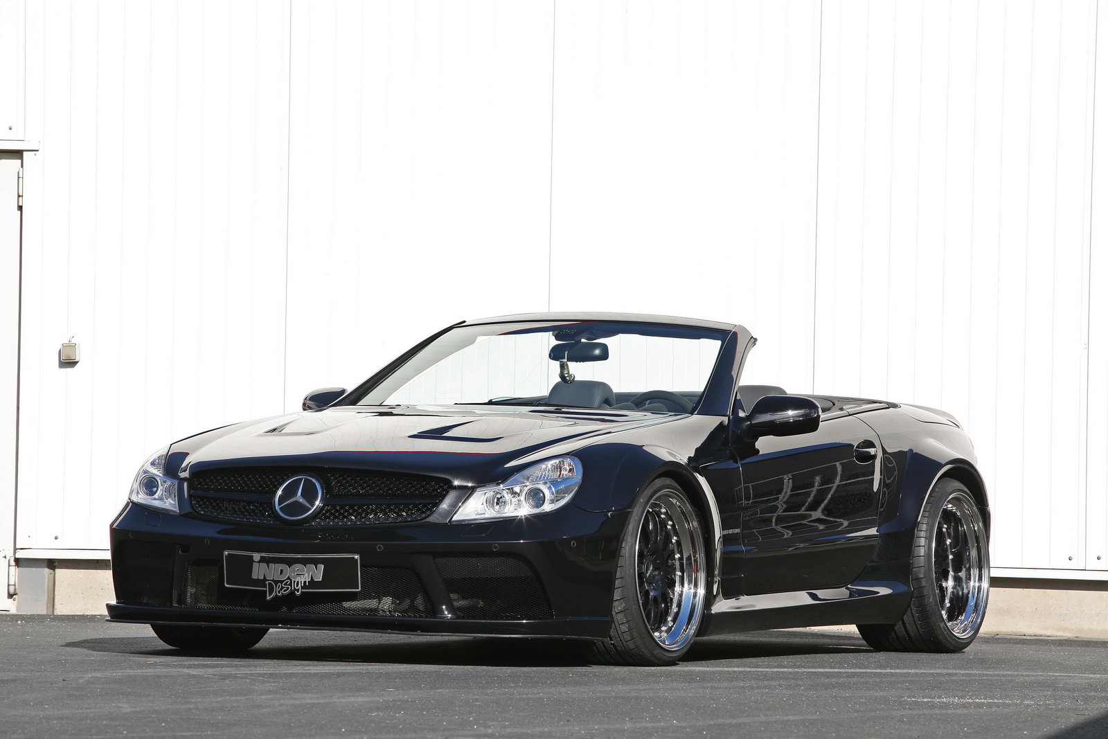 Inden design releases black series kit for the mercedes for Mercedes benz sl65 amg black series for sale