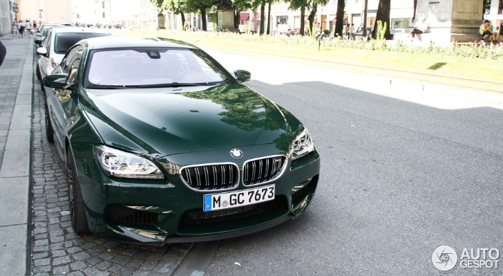 Individual BMW M6 Gran Coupe Stuns with Its British Racing ...