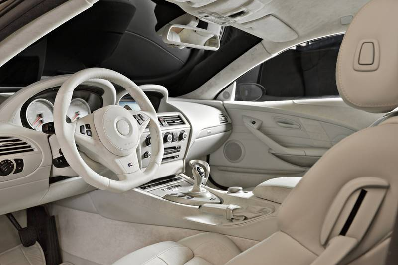 individual interior design for the bmw m6 from g power autoevolution. Black Bedroom Furniture Sets. Home Design Ideas