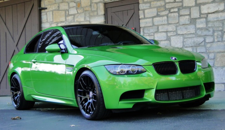 bmw m3 coupe green - photo #36