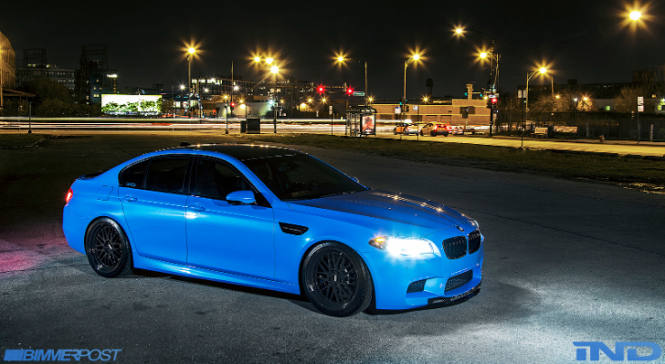 Ind S Bmw F10 M5 Is A Yas Marina Blue Wonder Autoevolution