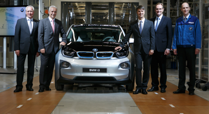 Industrial-Scale Manufacturing of CFRP Debuts in the Car Industry with the i3