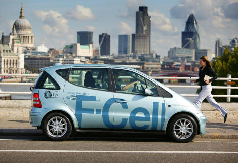 Auto Industry to Sell 1 Million Fuel Cell Vehicles by 2020
