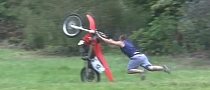 Inexperienced Rider Faceplants Hard in the Grass [Video]