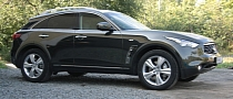 "Infiniti FX Black ""Military"" Chrome Wrap [Photo Gallery]"