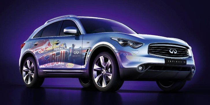 Infiniti FX Red Bull F1 Vinyl Wrap Released