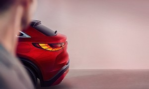 Infiniti FX Successor Design Teaser Reveals Coupe-Crossover Looks