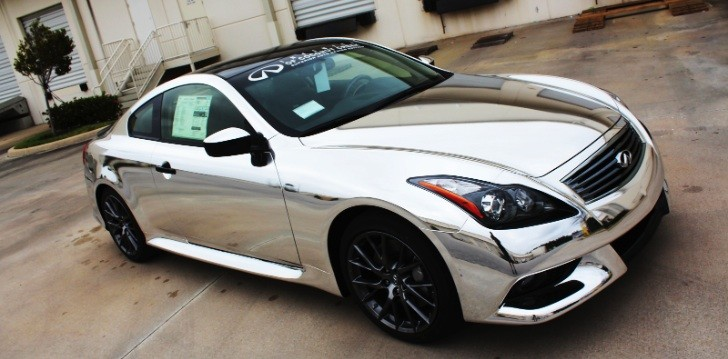 Infiniti G37 IPL Chrome Wrap [Photo Gallery]