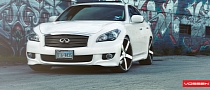 Infiniti M37S on Vossen Wheels [Photo Gallery]