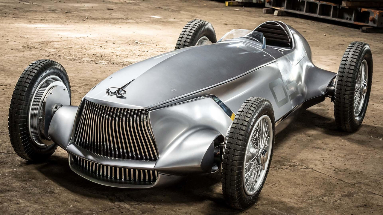 infiniti prototype 9 revealed is a nissan leaf that looks like a 1940s race car autoevolution. Black Bedroom Furniture Sets. Home Design Ideas