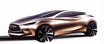 Infiniti Q30 Teased Ahead of Frankfurt Debut