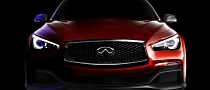 Infiniti Q50 Red Water F1 Concept Teased