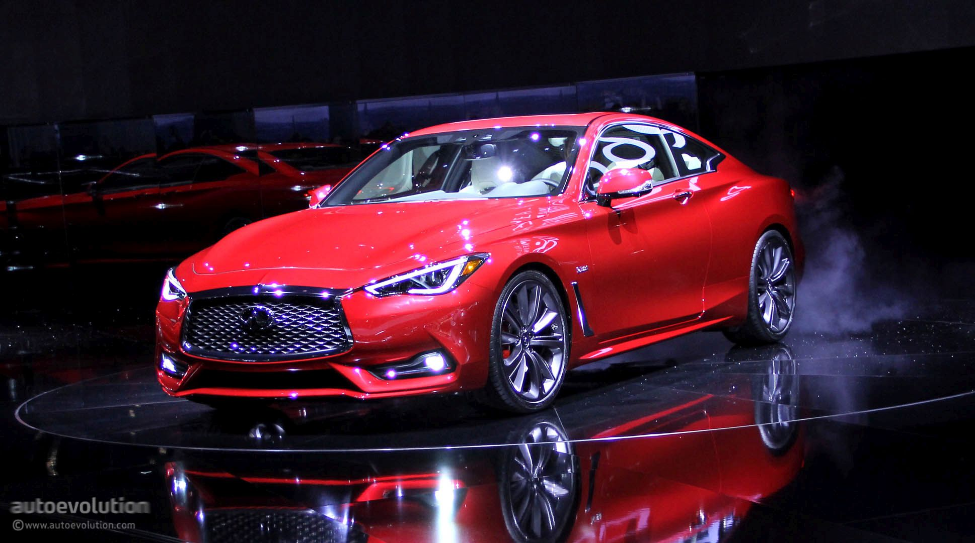 2017 Infiniti Q60 Coupe Hits Detroit With 400 Hp V6 Moves