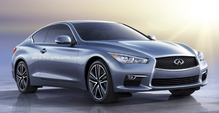 Infiniti Q60 Coupe Rendered, Coming in 2016 - autoevolution