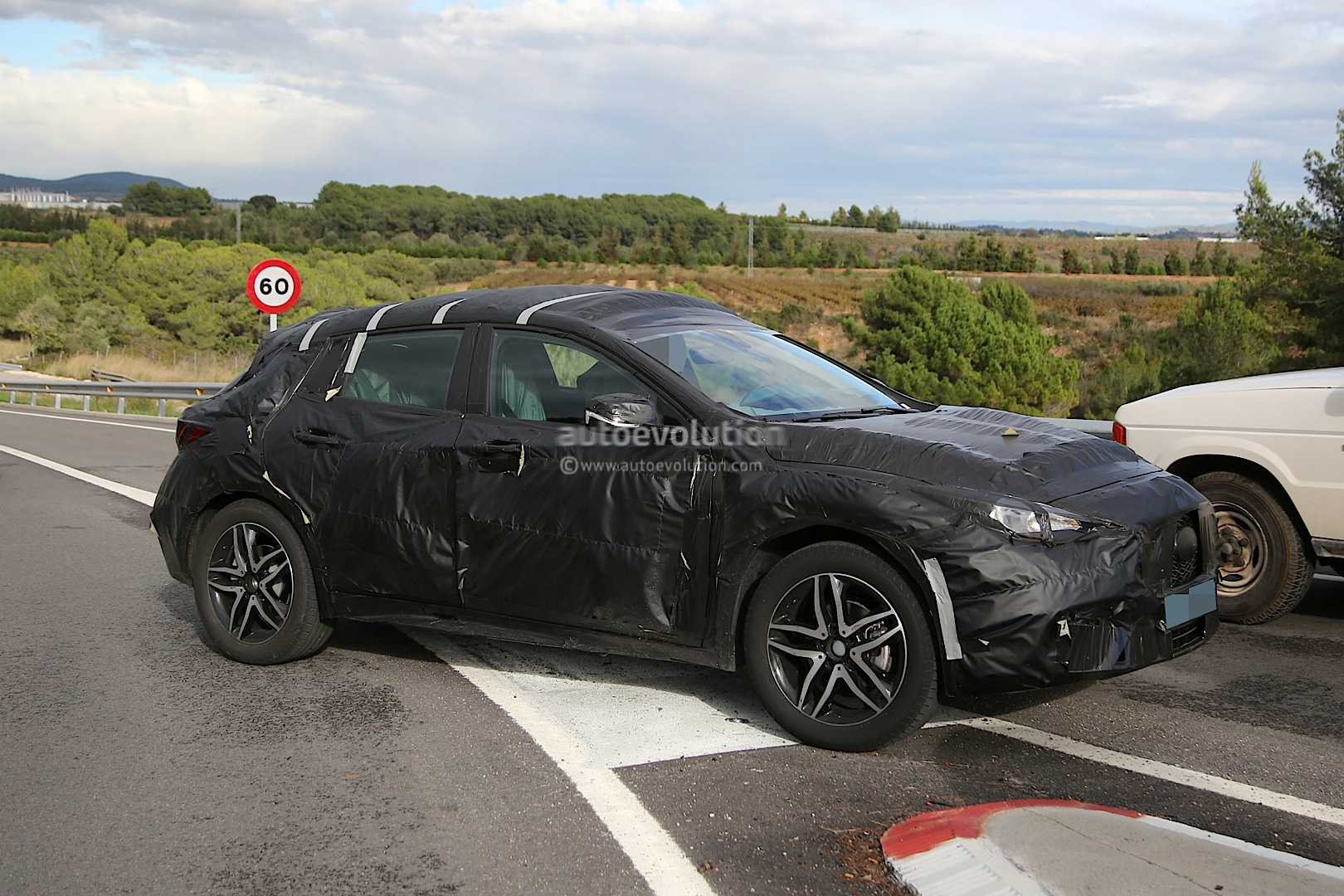 Infiniti Qx30 Spied For The First Time Will Enter