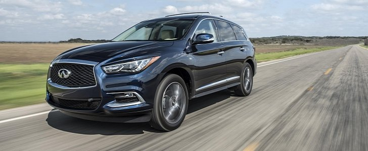 infiniti qx60 receives iihs 39 s top safety pick plus award. Black Bedroom Furniture Sets. Home Design Ideas