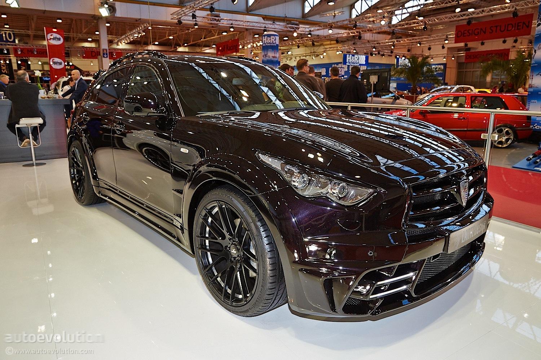 Infiniti Qx70 Lr3 By Larte Design Shows Porsche Purple