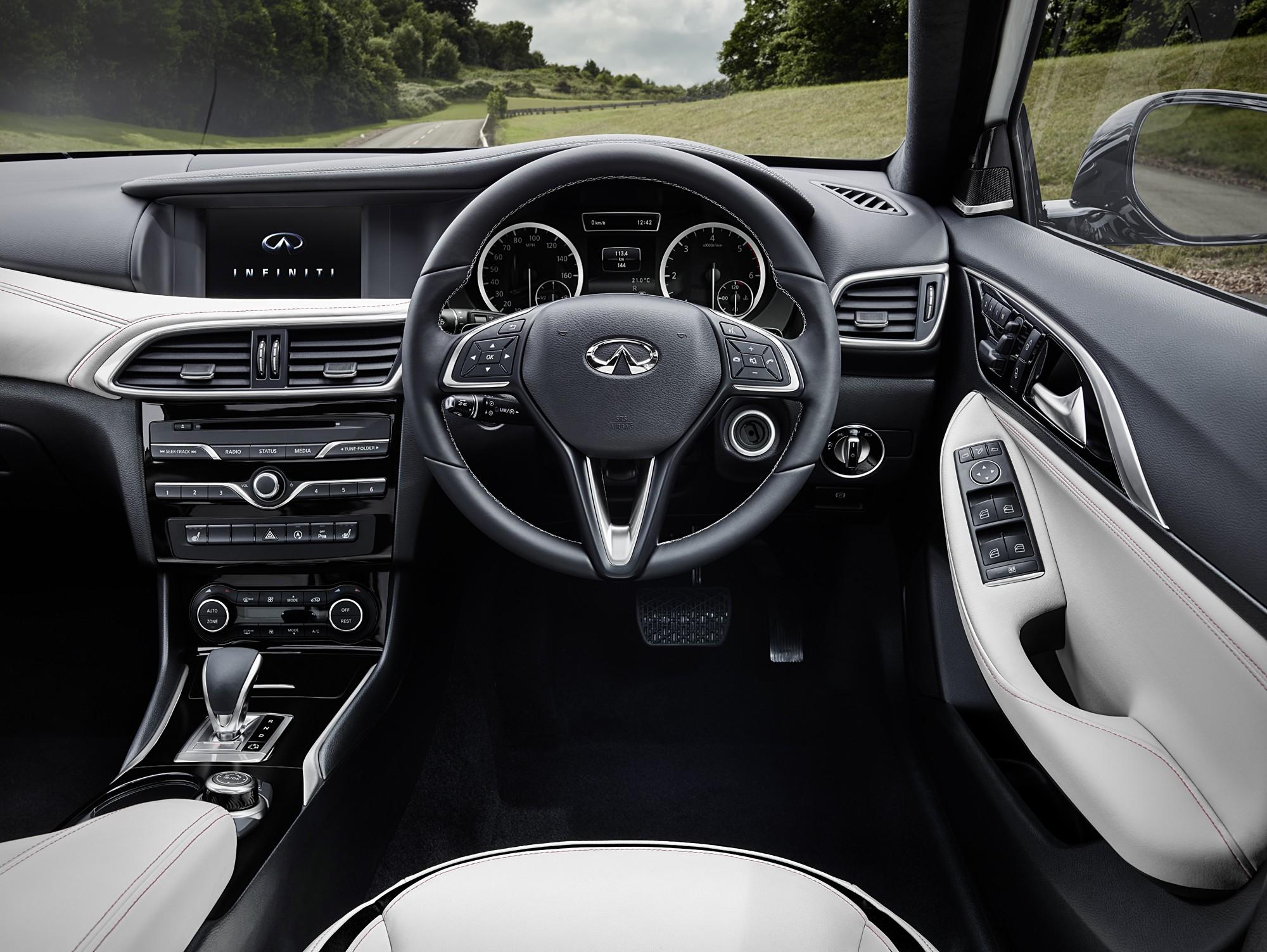Infiniti Reveals Q30 Interior, It has Mercedes-Benz ...